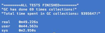 GC stats after spec run